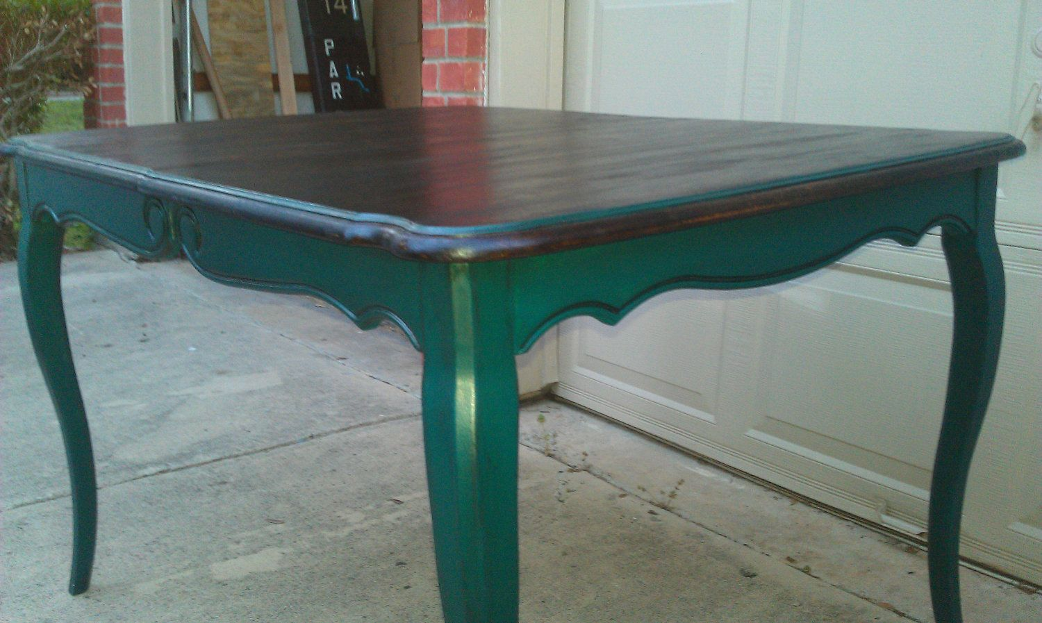 Painted Kitchen Tables | Elegantly Hand painted French Country ...