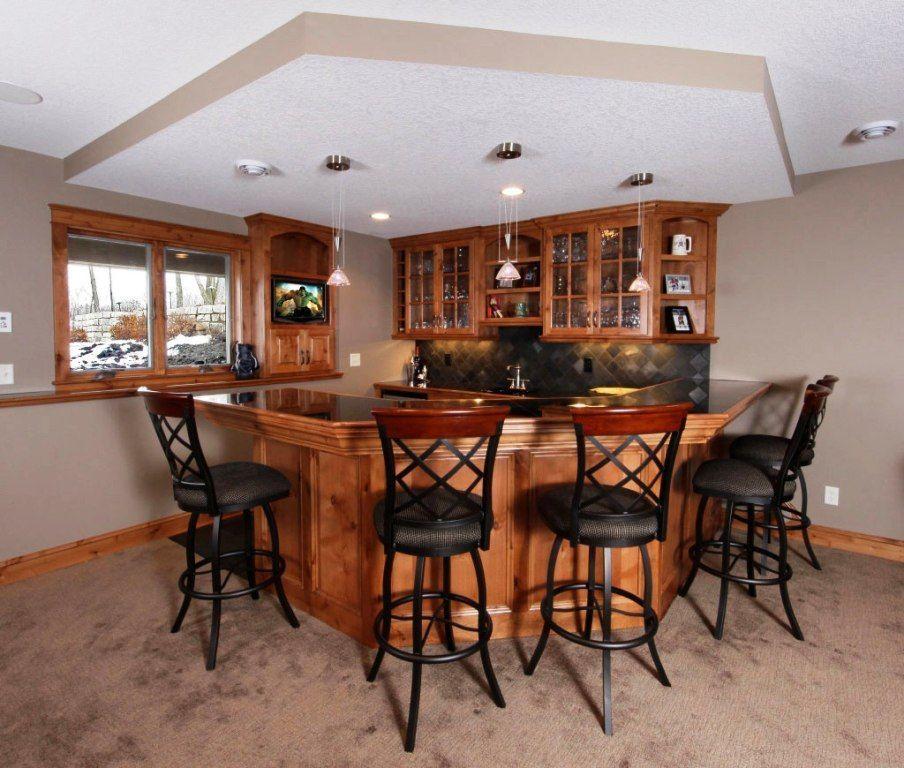 Basement Bar Designs Plans