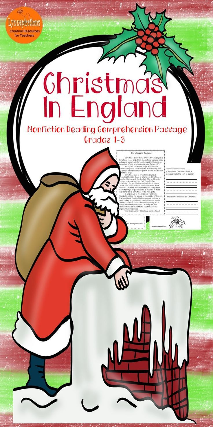 Christmas in England: Non-fiction Reading Comprehension Passage For Grades 1-3 | Reading ...