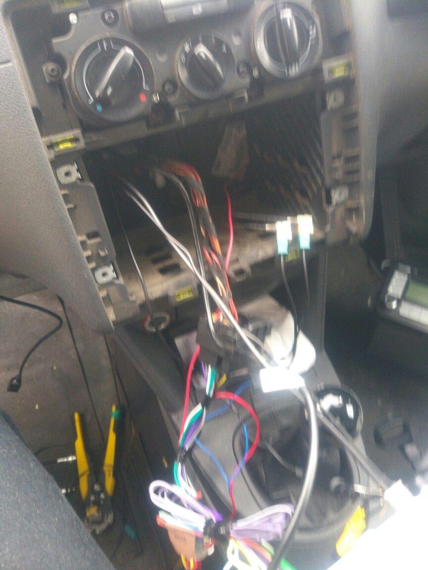Caddy 2k radio upgrade | car audio installs | Pinterest | Car audio