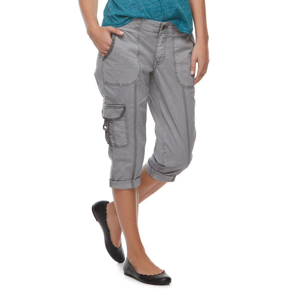b2d90769 Petite SONOMA Goods for Life™ Cargo Utility Capris | Products ...