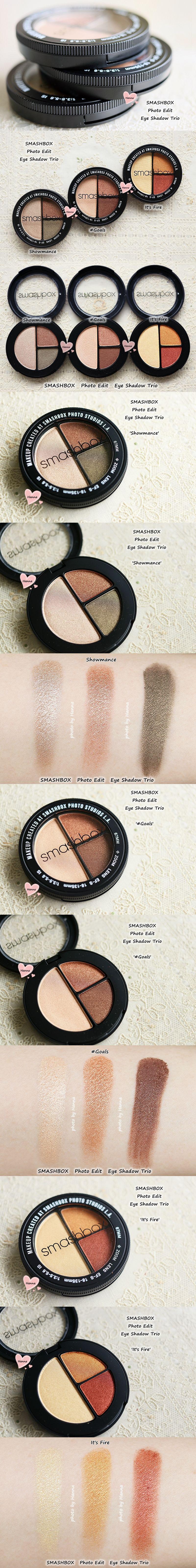 Photo Edit Eyeshadow Trio - #Goals by Smashbox #3