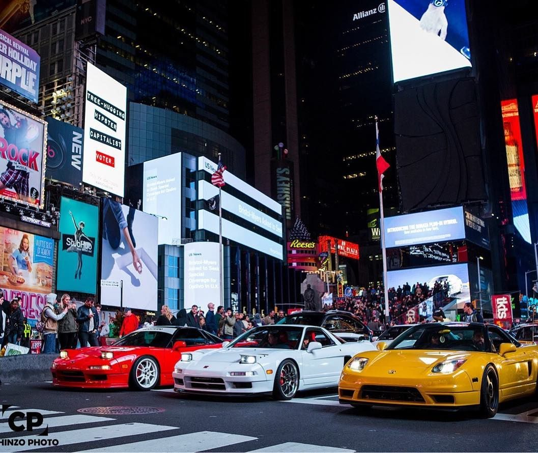 Nsx, Nyc Times Square, Acura Nsx