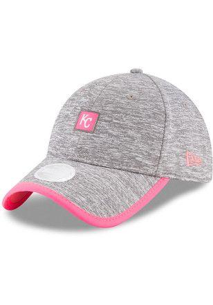 04d99aad New Era Kansas City Royals Pink Trimflect Adjustable Hat   MLB ...