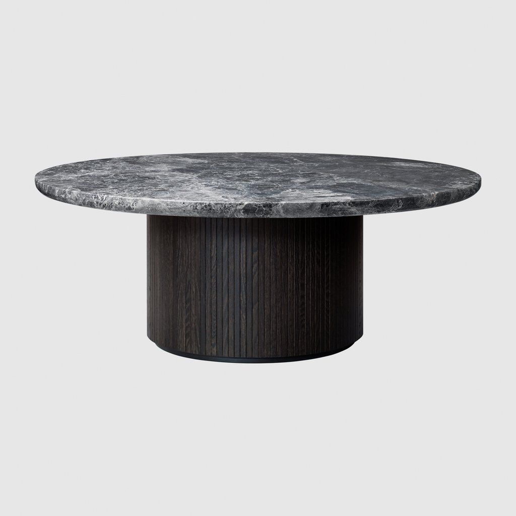Moon Coffee Table Round 216 120 X H45 Marble Top Fur