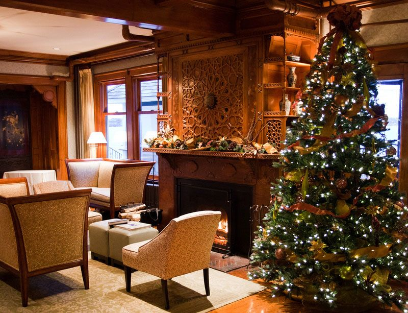 New Spirit With Rustic Christmas Decorating Ideas  Elegant Living Alluring Simple Elegant Living Room Design Design Ideas