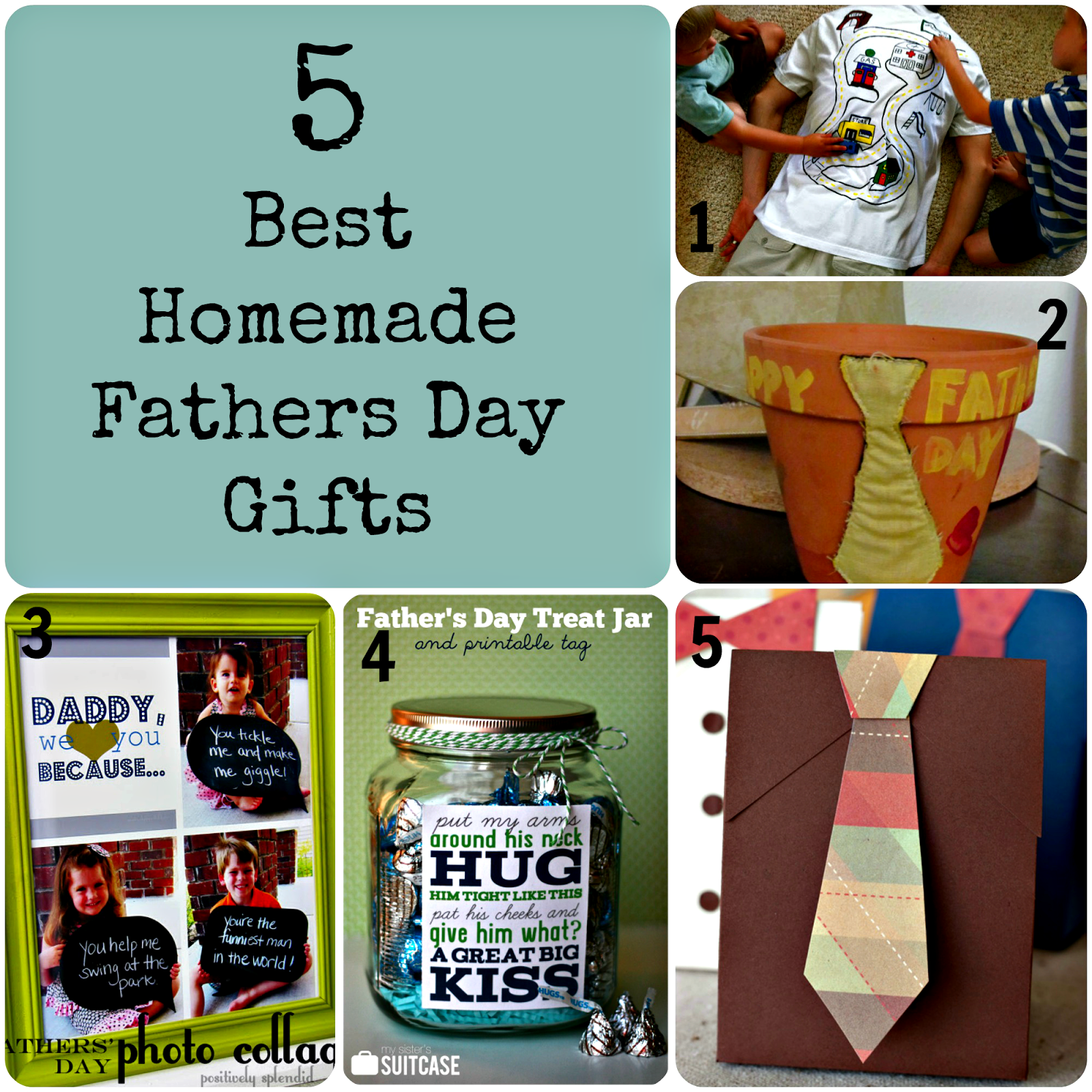 Make One Of These Homemade Fathers Day Gifts To Share Your Love With Dad