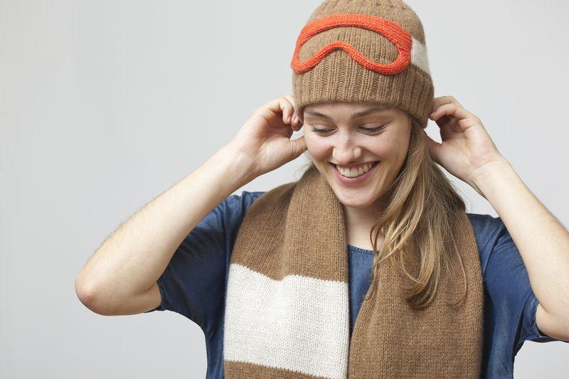 46ecdb3d203 ski goggles hat from Uniques by Nina Führer by DaWanda.com ...