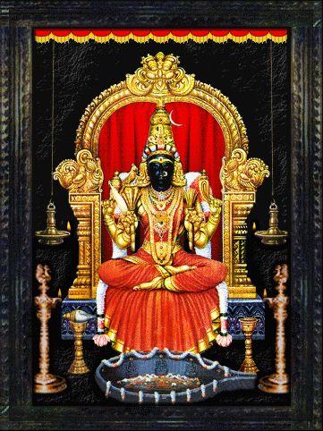 Kamakshi - Kamakshi Amman Temple, (Kanchipuram, Tamil Nadu ...