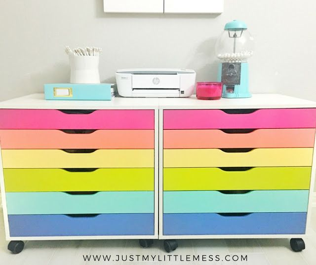 Just my little mess painting ikea alex drawers craft - Zimmereinrichtung ikea ...