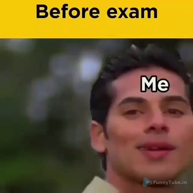 Brain Before And After Exam Lol Funny Status Video Funny Videos Funny Statuses Exams Funny Videos Funny