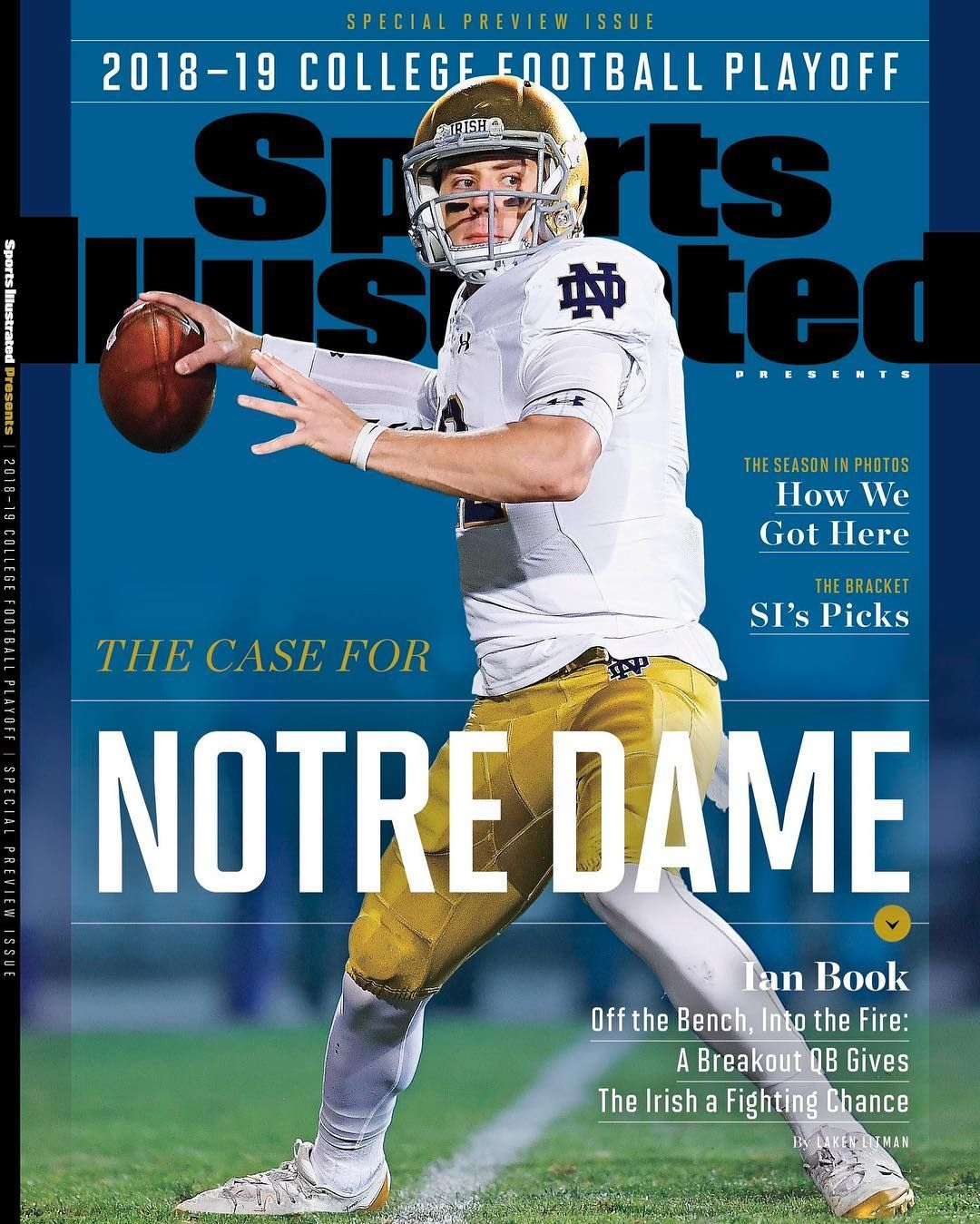 Qb Ian Book Is On The Cover Of Sports Illustrated S Bowl Preview