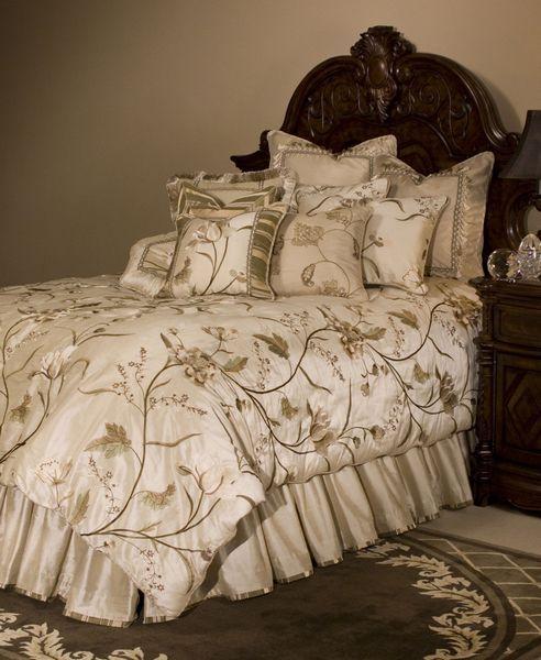 Sooo Pretty Bed Design Comforter Sets Michael Amini Bedding