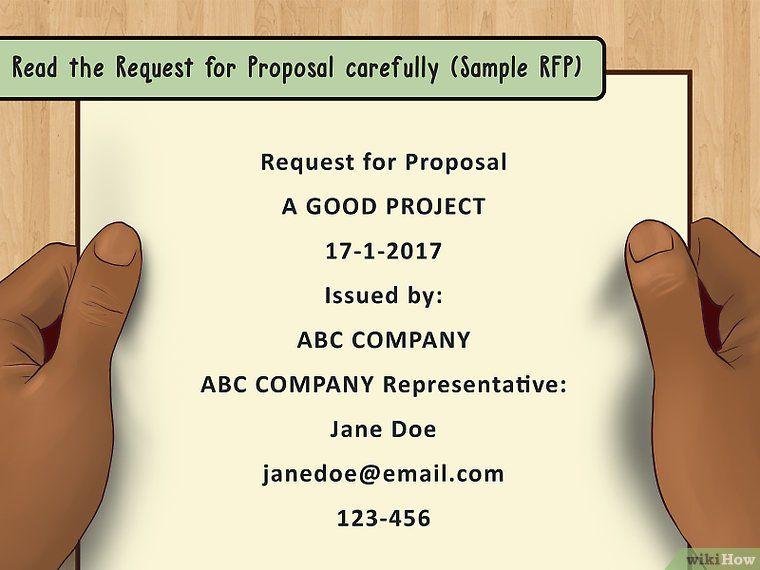 Write a Business Proposal Writing a business proposal