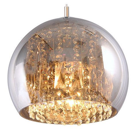 Home collection large crystal glass jenna pendant ceiling light home collection large crystal glass jenna pendant ceiling light debenhams aloadofball Choice Image