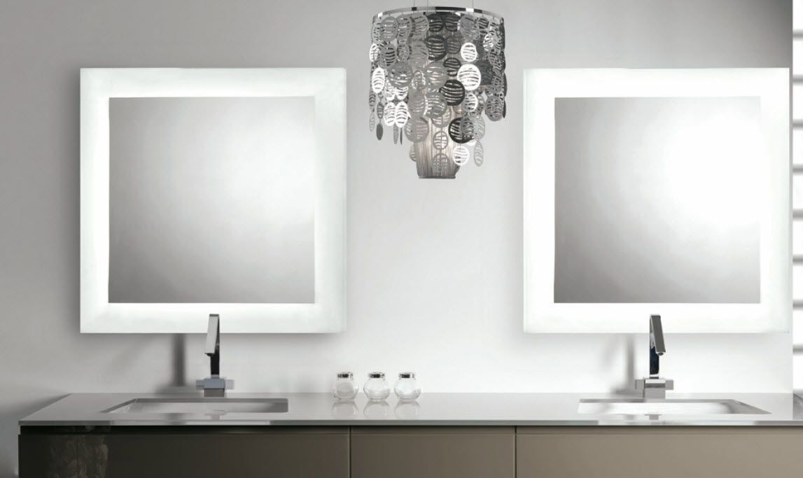 Bathroom Mirrors Kelowna illuminated bathroom mirror luminee artelinea | artelinea mobile