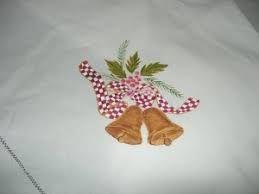 Resultado de imagen de manteles de navidad pintados
