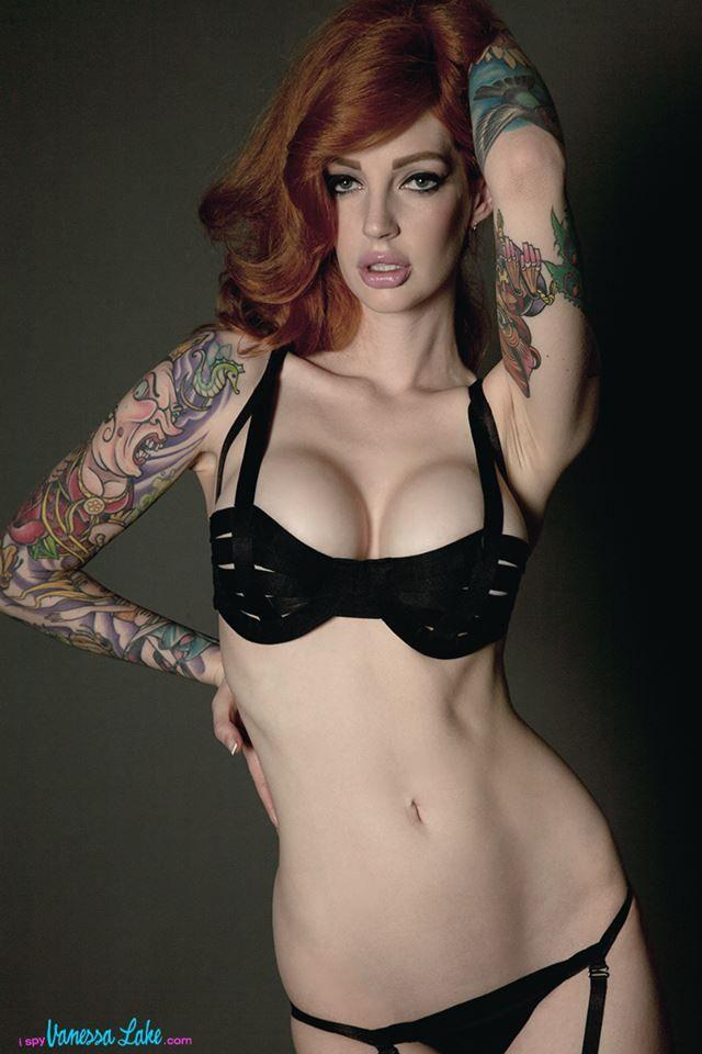 Inked girl tattoo lake vanessa