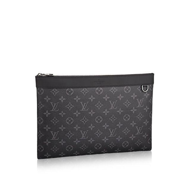 Louis vuitton designer leather pochette apollo