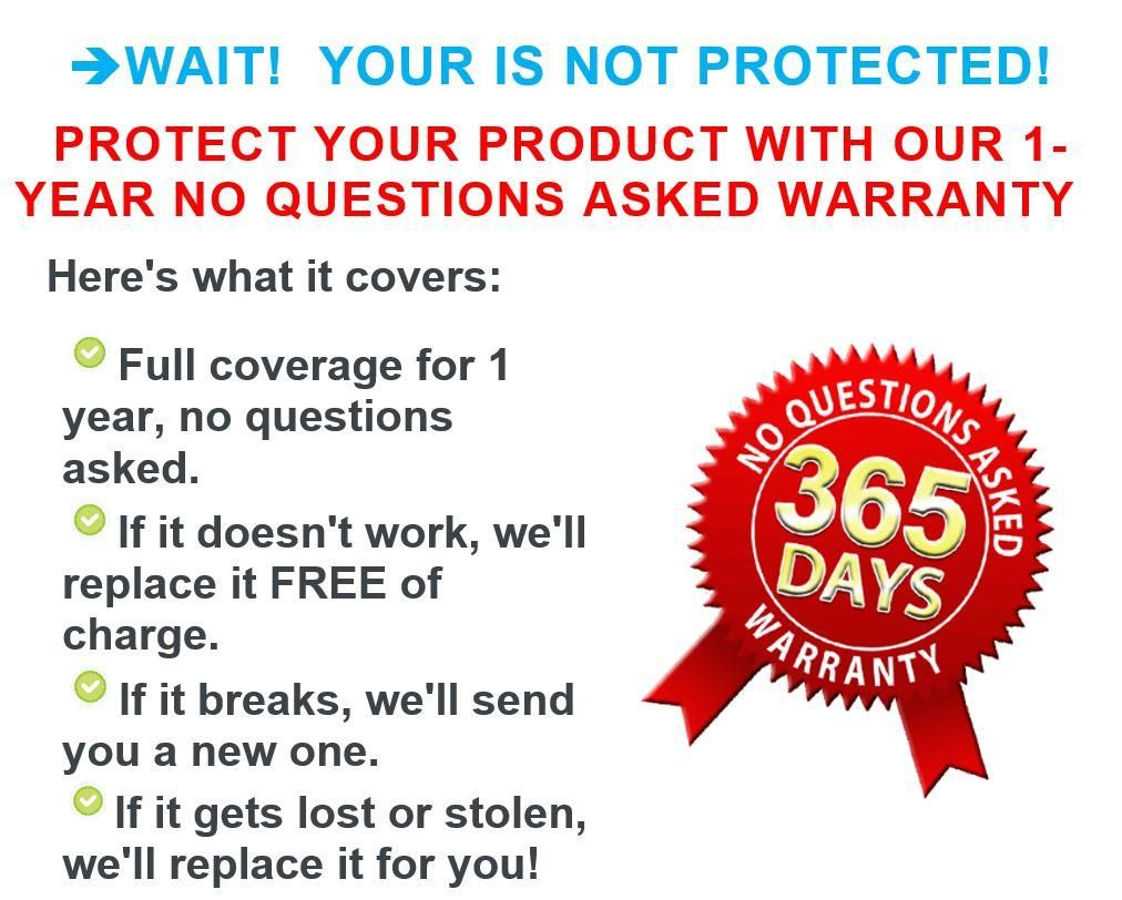 Tizdeals 1 Year No Questions Asked Warranty This Or That Questions 1 Year Warranty
