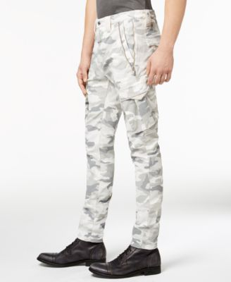 popular brand super cute new york Guess Men's Camo Cargo Pants - Silver 34 | Products | Mens ...