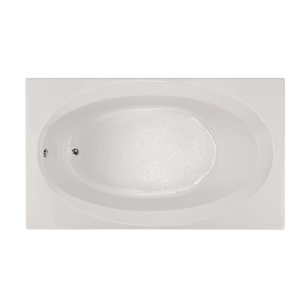 Hydro Systems Studio 6 ft. Reversible Drain Air Bath Tub in White ...