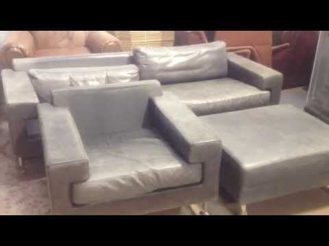 ▶ Leather Restoration from Aniline to Protected - YouTube