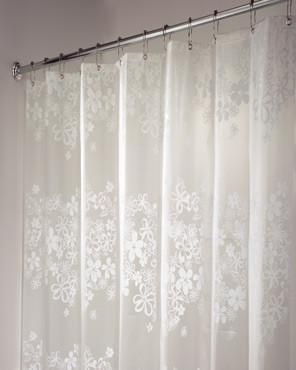 Fiore Eva Shower Curtain Vinyl Shower Curtains Curtains Fabric