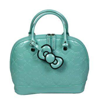 b7866dff3 Hello Kitty Mint Patent Embossed Handbag | Hello Kitty Love | Hello ...