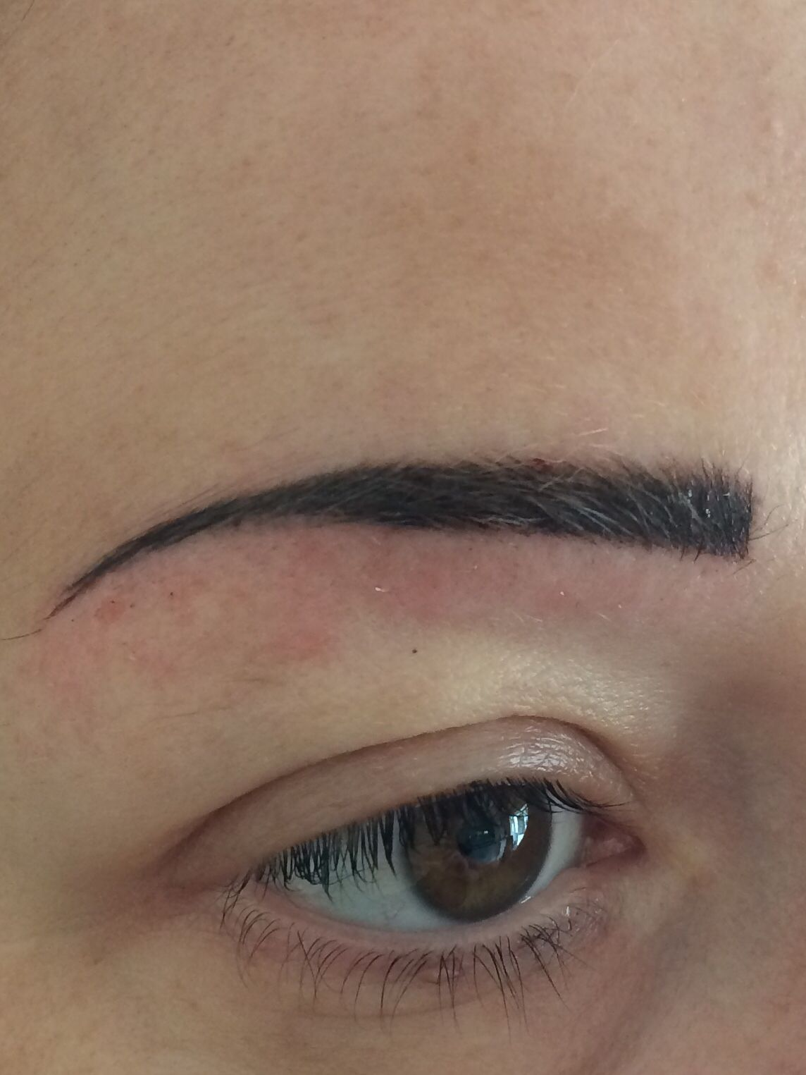 After top up Semi permanent makeup, Brows, Permanent makeup