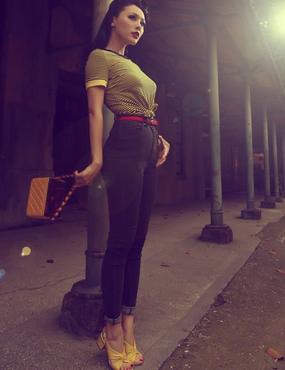 Rockabilly Girls and Vintage Style Pin-Ups  sc 1 st  Pinterest & Rockabilly Girls and Vintage Style Pin-Ups | Rockabilly Girls and ...