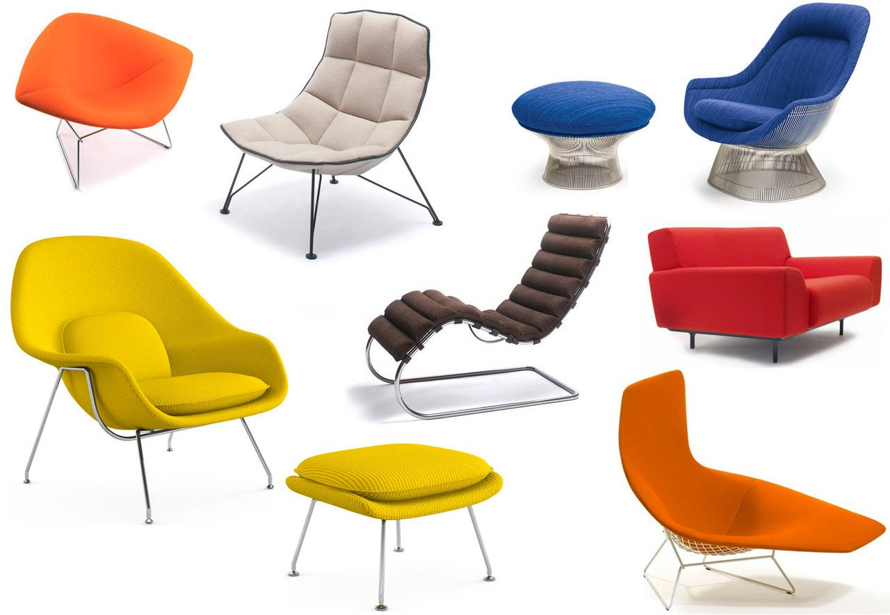 Contemporary Seating Sitting Pretty With Knoll S Modern Lounge Chairs Home