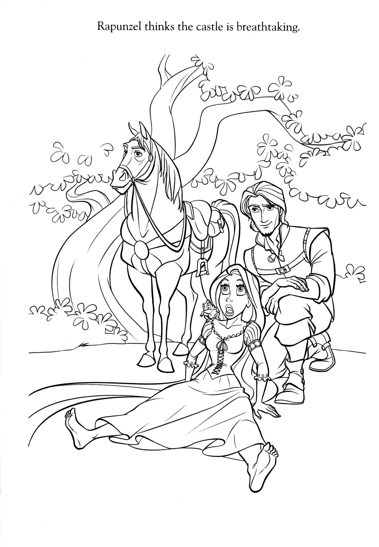 Disney Coloring Pages Tangled Coloring Pages Disney Princess Coloring Pages Rapunzel Coloring Pages