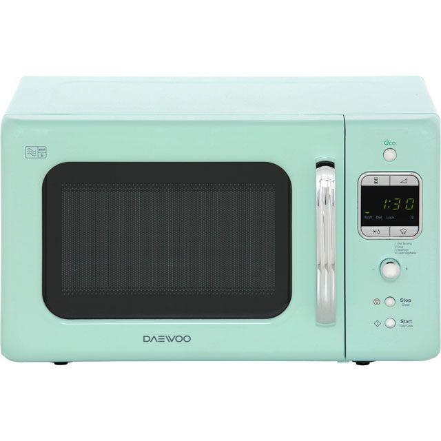 Daewoo KOR7LBKM Retro Style Microwave