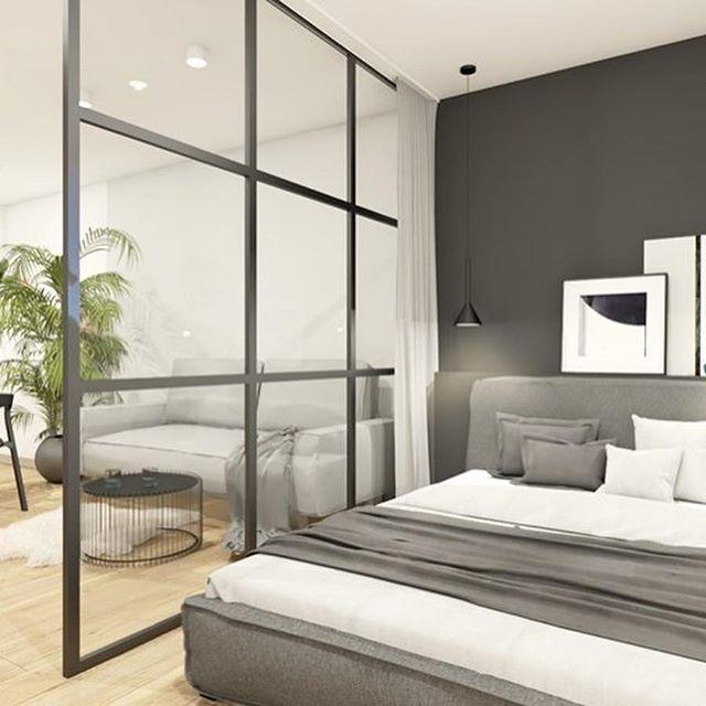 Mieszkanie O Powierzchni 44 Mkw Z Sypialnią W Salonie