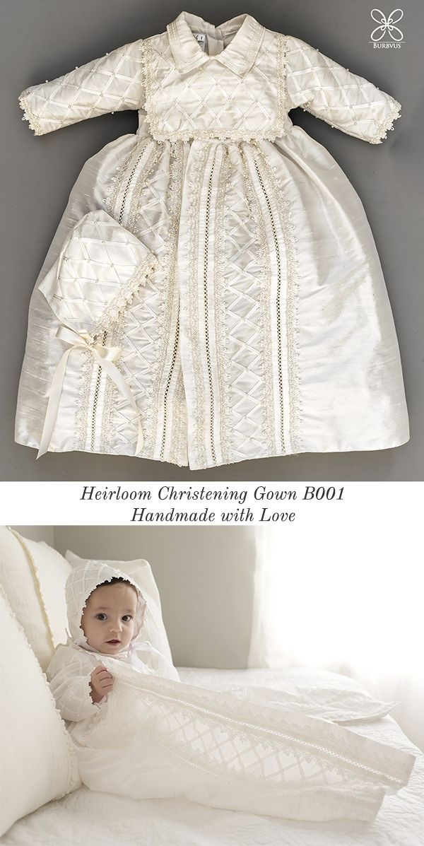 7d94c3333164 Lovely Christening or Baptism Gown Burbvus B001. Lovely Christening or  Baptism Gown Burbvus B001 Baby Christening Gowns ...