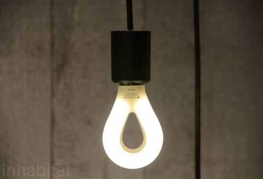 Gluhbirne LED Nature Bulb by Process Design Team can be used with any standard a-frame light fixture.