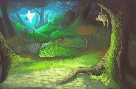 Image Result For Pokemon Environment Forest At Night Night Forest Grass Pokemon Pokemon