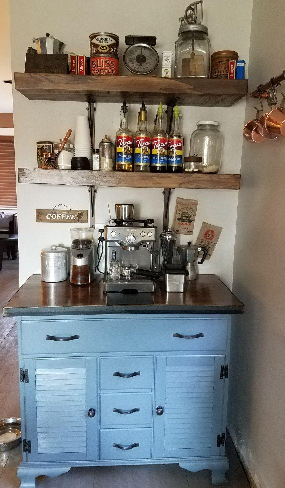 20 DIY Coffee Bar Ideas For Your Amazing Home | Coffee corner ...