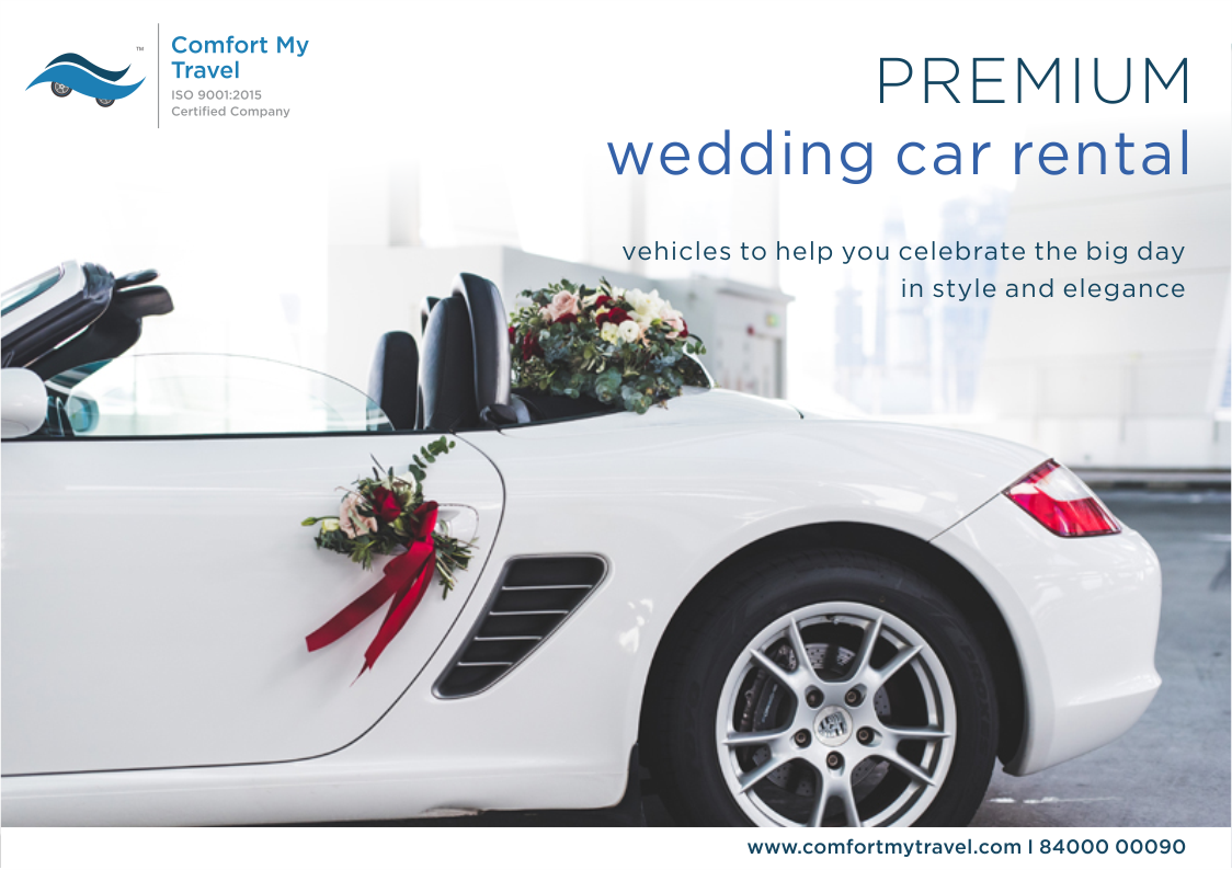 Premium Wedding Car Rental Vehicles To Help You Celebrate The Big Day In Style And Elegance For Booking And Details Call Wedding Car Car Rental Car Decor