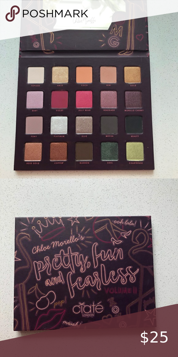 Ciaté Chloe Morello pretty fun & fearless palette in 2020