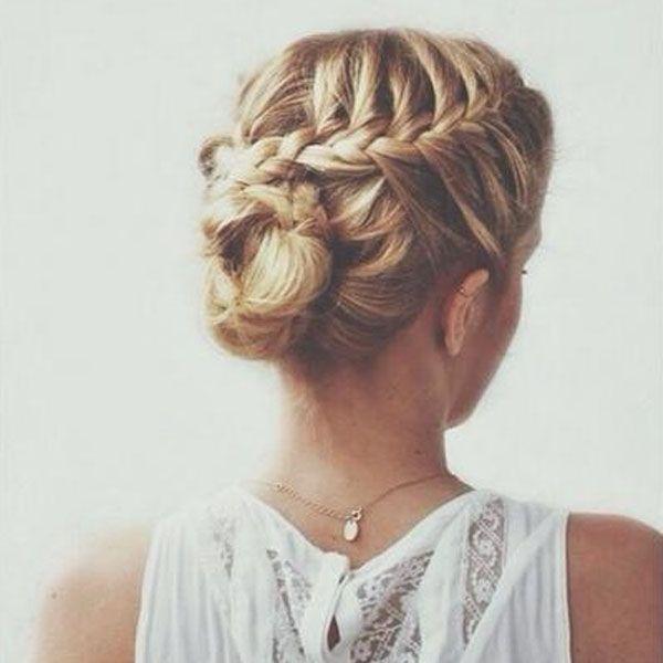 Beliebt coiffure mariée tresse | Beauté | Pinterest | Coiffure mariée  YO56
