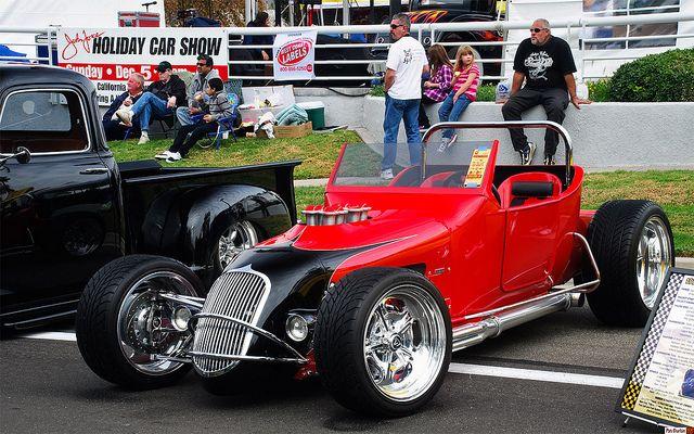 1923 Ford Model T Track Roadster Replica Red Black Fvl