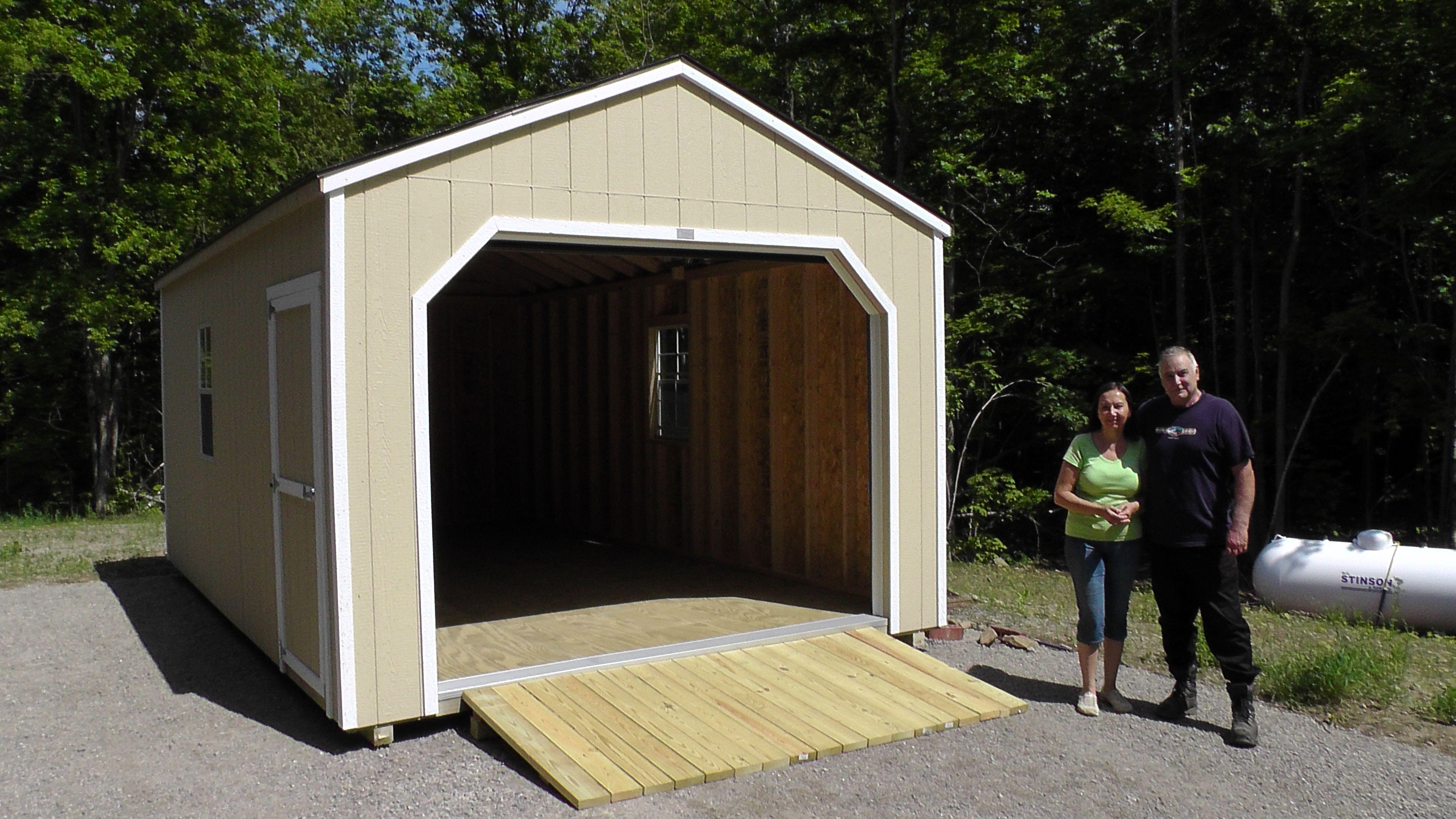 12' X 24' Portable Garage delivered near near Merrickville