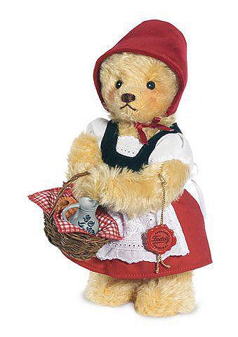 Sammler-Teddybär, HERMANN® Teddy ORIGINAL, Plüschtier »Rotkäppchen, 26 cm«,