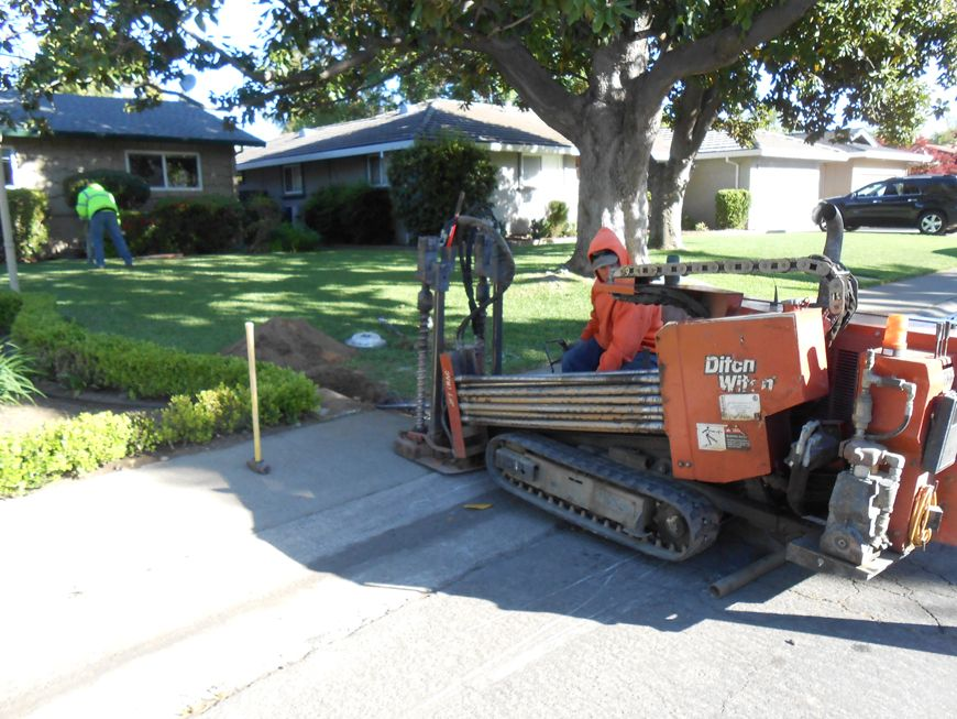 Trenchless in Sacramento Another Happy Customer (916