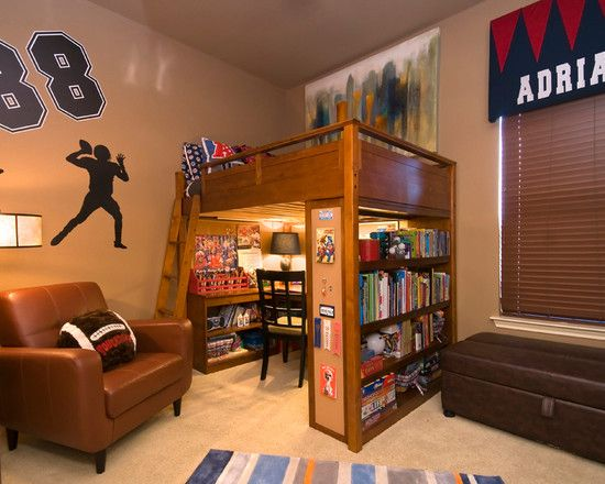 terrific boys bedroom | Awesome Decorating Ideas for Boys Bedroom in Contemporary ...