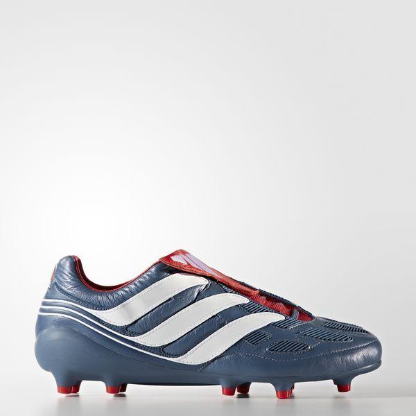 lowest price ae026 821a1 Bota de fútbol Predator Precision césped natural seco Blue Grey Footwear  White Collegiate Red CM7911