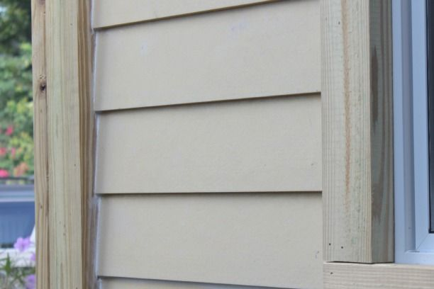 How To Caulk Exterior Siding And Why Not To Caulk Fresh Pressure Treated Wood The Space Between Exterior Siding Pressure Treated Wood Cedar Siding