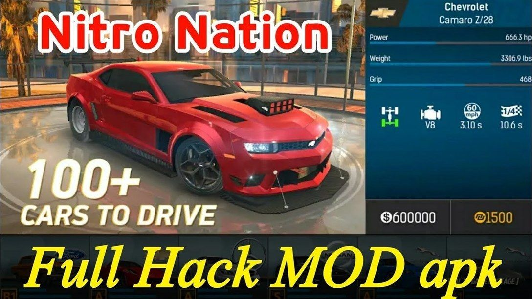 Nitro Nation Drag Racing Hack Apk Cheat Android iOS No ...